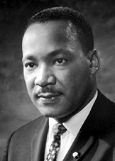 Portrait of Dr. Martin Luther King Jr.