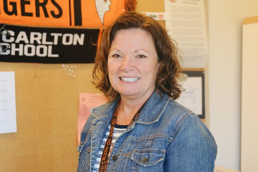 YCHS new principal, Cindy Schubert.