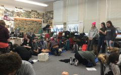 Students Take Action While Learning CPR in Health 2