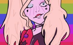 DC character Harley Quinn is one of several characters that represent the LGBT community in comic books and movies.